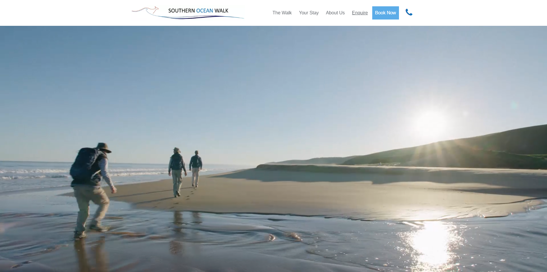 southern ocean walk website